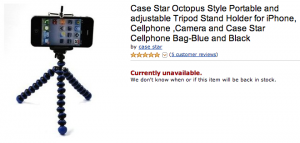 Case Star Octopus Tripod Stand